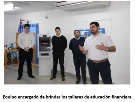 Finalizó el primer módulo del Programa de Educación Financiera para jubilados de la Caja de Previsión Social