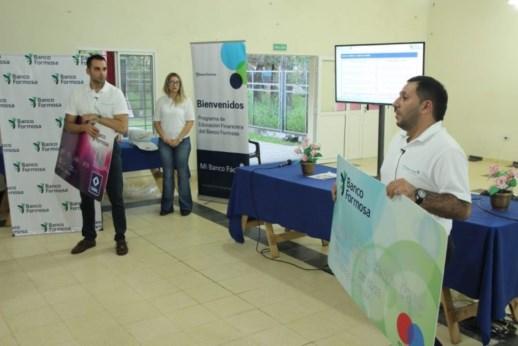 Mi Banco Fácil el programa de educación financiera que el Banco Formosa presentó a toda la comunidad