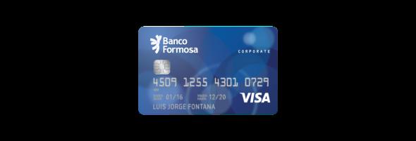 Tarjeta Visa Corporativa