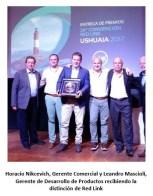 Banco Formosa obtuvo dos premios en la última convención de Red Link